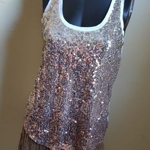 Express New with Tags 🏷️ Sequins Tank top